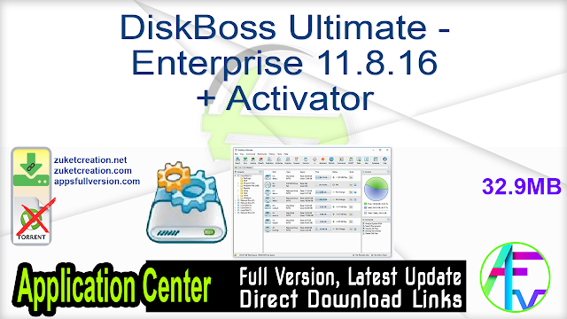DiskBoss Ultimate – Enterprise 11.8.16 + Activator