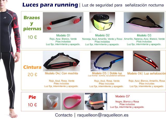 luces para running