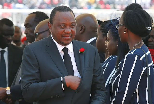 President Uhuru Kenyatta at KICC photos