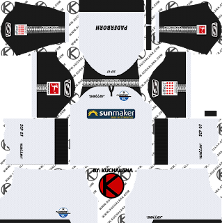 SC Paderborn 07 2019/2020 Kit - Dream League Soccer Kits