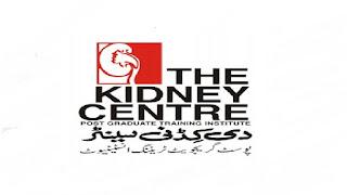 The Kidney Centre Post Graduate Training Institute Jobs 2021 in Pakistan