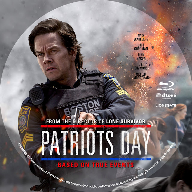 Patriots Day Bluray Label