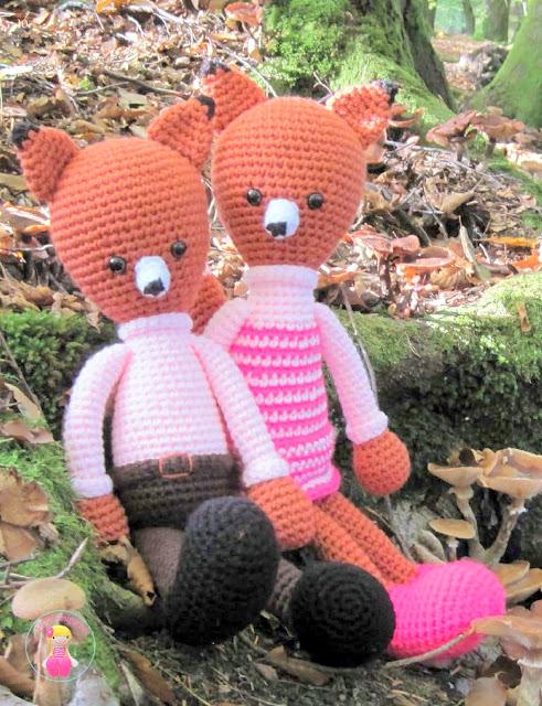 Amvabe Crochet Huggy Dolls 2 Amigurumi Crochet Patterns Crochet