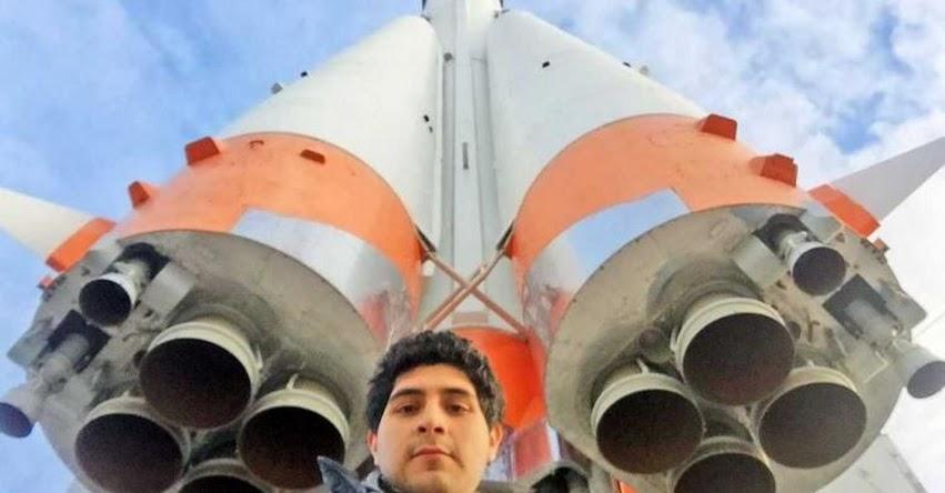 Joven peruano gana beca para estudiar tecnología aeroespacial en Rusia