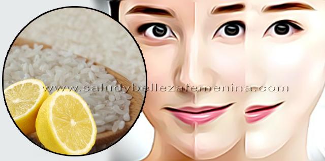 Como preparar una loción blanqueadora de arroz y limón, para blanquear la piel y combatir las manchas les  dejo esta receta natural, que ademas ayuda a eliminar el brillo de la piel y los puntos negros.