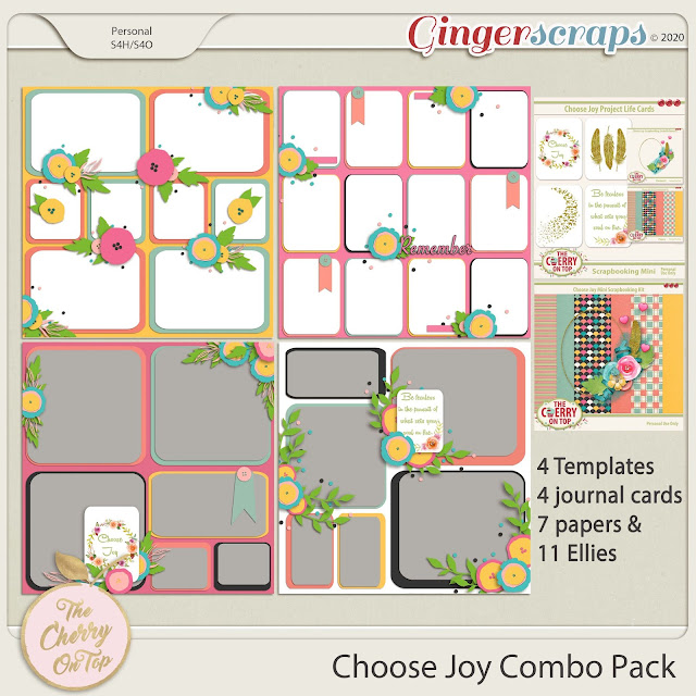 Choose Joy kit and templates