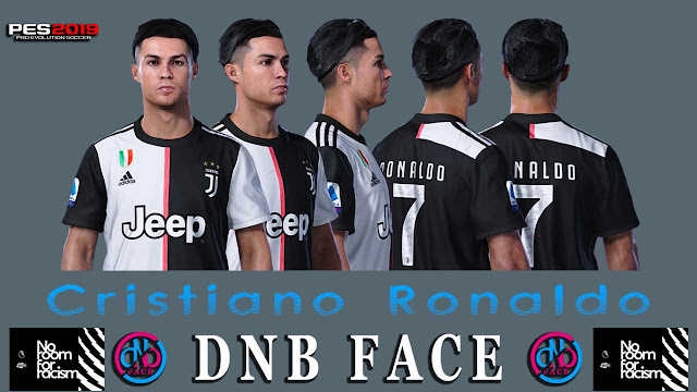 PES 2019 CR7 Face by DNB