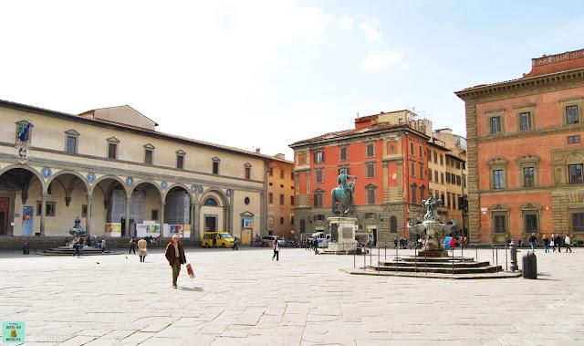 Piazza della Santissima Annunziata en Florencia