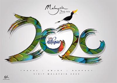 Logo Rasmi Tahun Melawat Malaysia 2020 viral