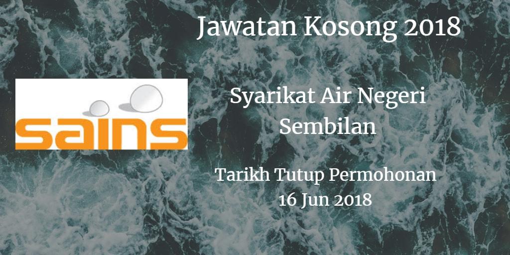 Jawatan Kosong SAINS 16 Jun 2018