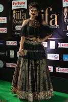 Ritika Singh in a Ethnic Deep Neck Dark Green Choli Ghagra at IIFA Utsavam Awards March 2017 ~ 024.JPG