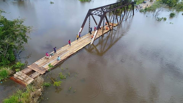 Tentativa de altear ponte no rio Araras completa 3 dias e BR-425 volta a ser fechada