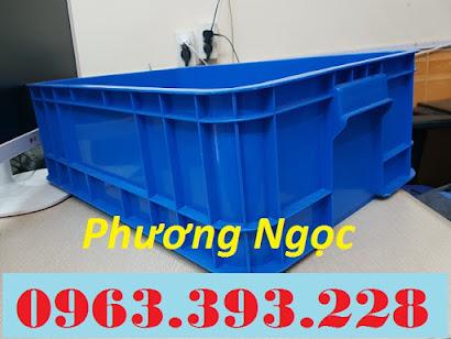 Thùng nhựa đặc B1, sóng nhựa công nghiệp, thùng nhựa có nắp, hộp nhựa linh kiện TN%25C4%2590B15