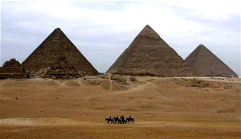 Khafre Pyramid opens for first time in three years
