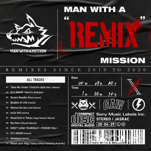 MAN WITH A MISSION - MAN WITH A
