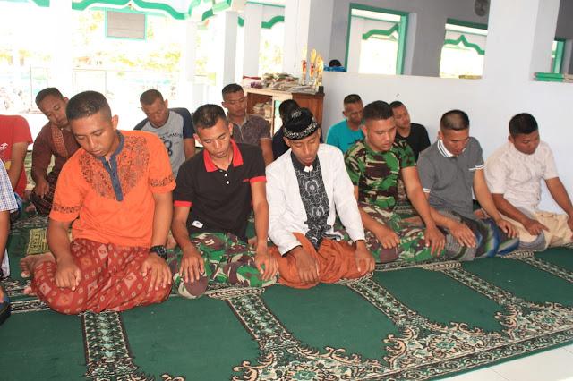 Keimanan TNI tetap Terjaga Guna Dukung keberhasilan TMMD Reg 105