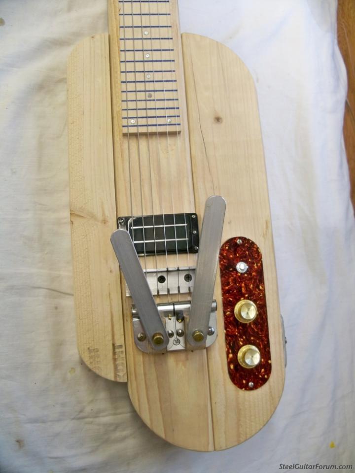 the unique guitar blog homemade steel slide guitar. Black Bedroom Furniture Sets. Home Design Ideas