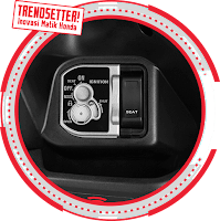 Integrated Key Shutter with Seat Opener Vario 110 ESP CBS Advance 2018 Anisa Naga Mas Motor Klaten Dealer Asli Resmi Astra Honda Motor Klaten Boyolali Solo Jogja Wonogiri Sragen Karanganyar Magelang Jawa Tengah.