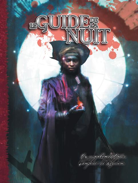 Couverture du Guide de la Nuit, supplément Vampire : Le Requiem 2e Edition