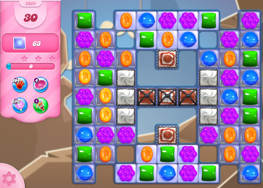 Candy Crush Saga level 3069
