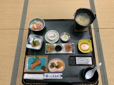 東秀館の朝食