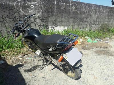 GCM de Embu das Artes recupera moto furtada