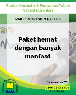 Paket Moreskin Nature Perawatan Wajah
