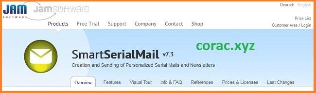 SmartSerialMail Full Crack