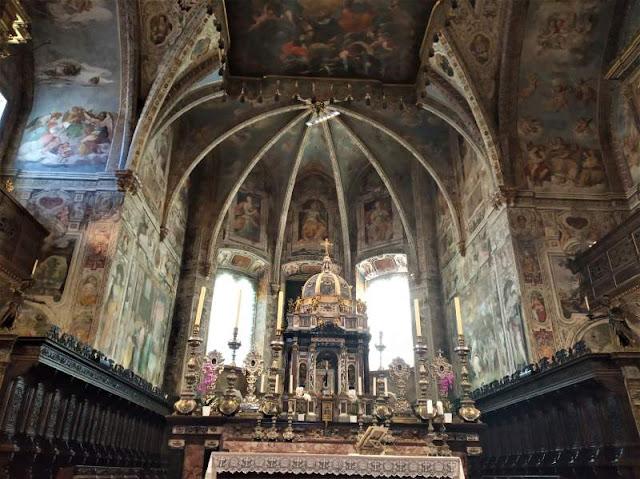 affreschi abbazia san pietro perugia