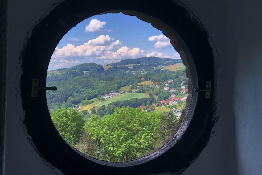 Ausblick Richting Leonding, Franz-Josefs-Warte