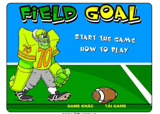 Chơi game bóng bầu dục thú vị