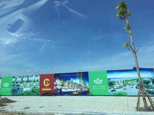 Cảnh quan Anland Nam Cường.