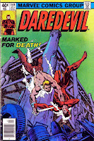 Daredevil v1 #159 marvel comic book cover art by Frank Miller