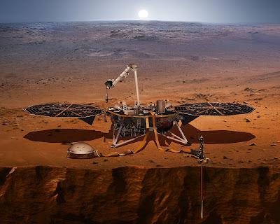 Trivella viaggia verso Marte