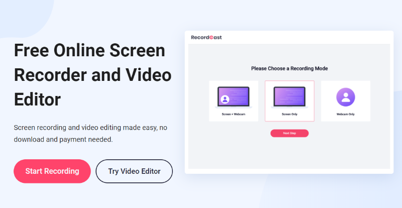 Free tools to record your computer screens