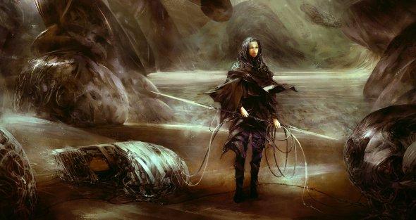 Simon Goinard ilustrações arte conceitual pinturas digitais ficção científica sombrio surreais realistas