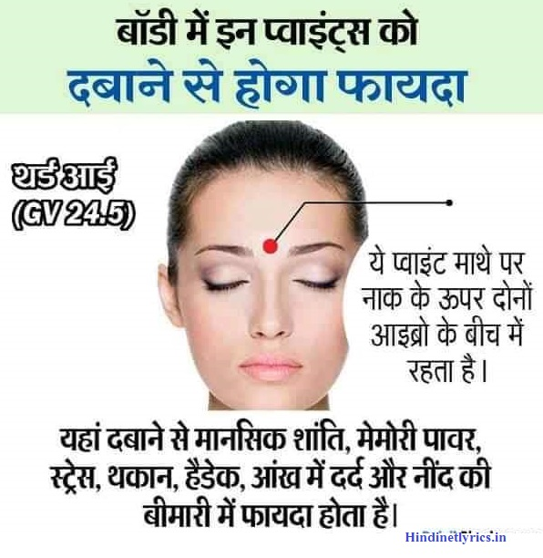 Top 50 Health Tips Body Points in Hindi