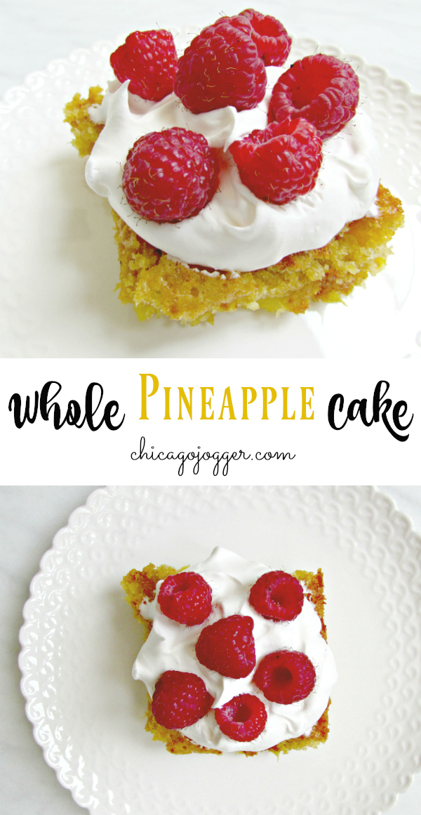 Whole Pineapple Cake