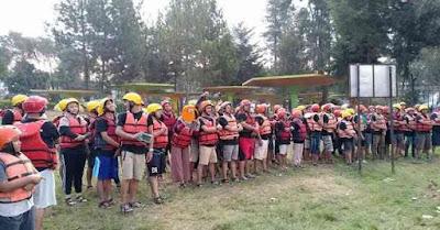 perlengkapan rafting