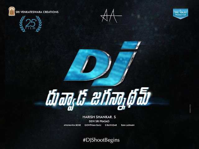 Allu arjun new movie title and logo