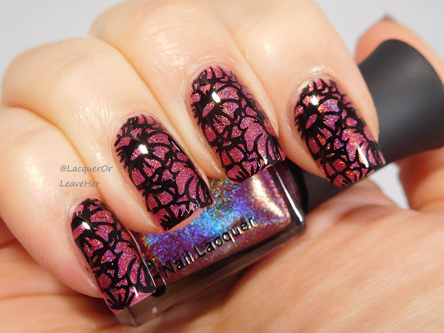 Marianne Nails N. 18 over Nicole Diary My Dance 009