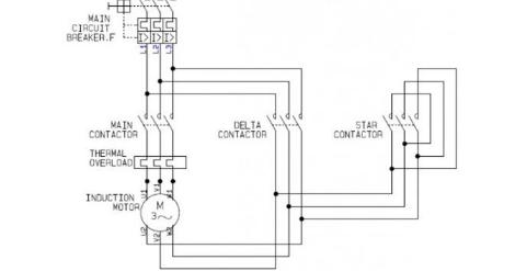 Wiring Diagram Star Delta Motor 3 Phase Pada Industri