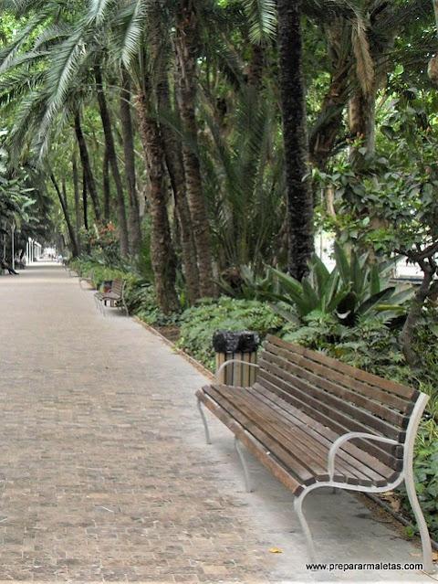 jardines y zonas verdes de Málaga ciudad