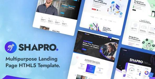 Best Multipurpose Landing Page HTML5 Responsive Template