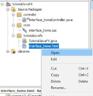 Cara Membuat Interface Aplikasi Pada JavaFx 6