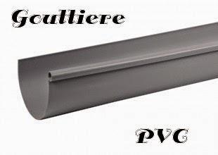 gouttière pvc
