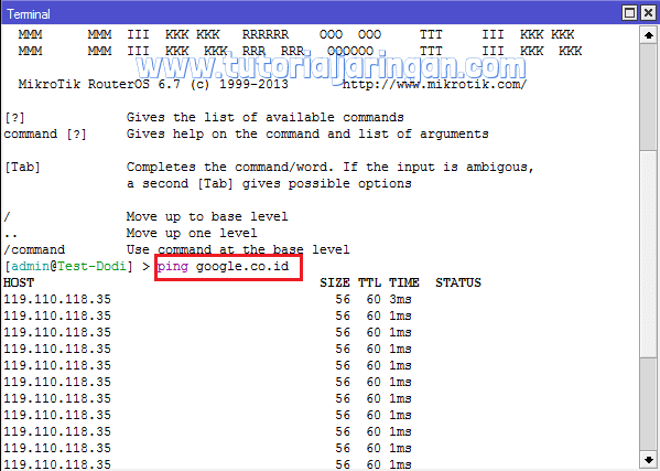 Tutorial Cara Setting PPPoE Client di Router Mikrotik