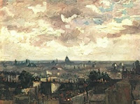 Vincent van Gogh: View of Paris from Meudon