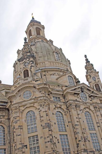 Kościół Marii Panny w Dreźnie, odbudowany budynek po wojnie