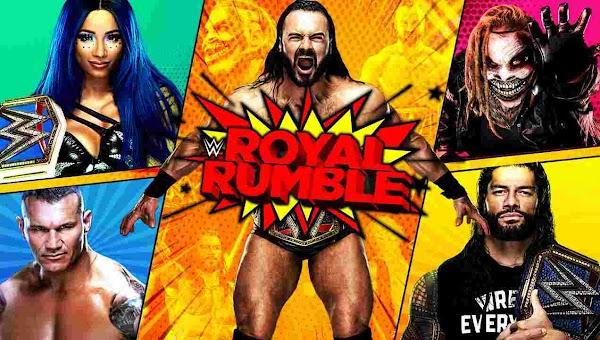 Repetición de Wwe Royal Rumble 2021 En Español Full Show